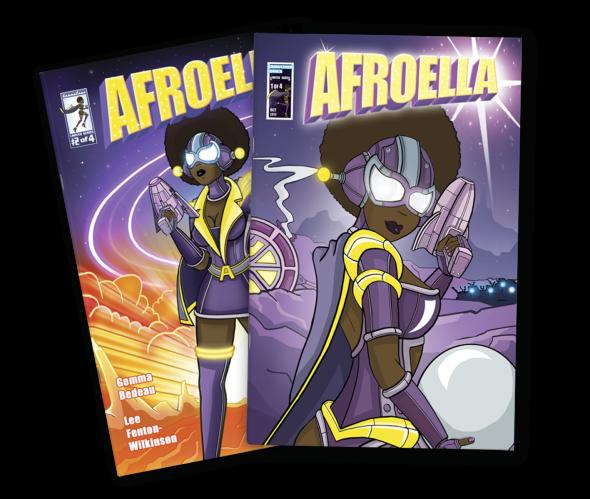 Issue #1+2 Comic Covers Retina