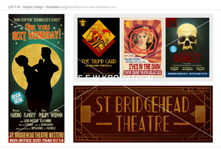 GRAPHIC FOLIO WEBSITE THEATRE