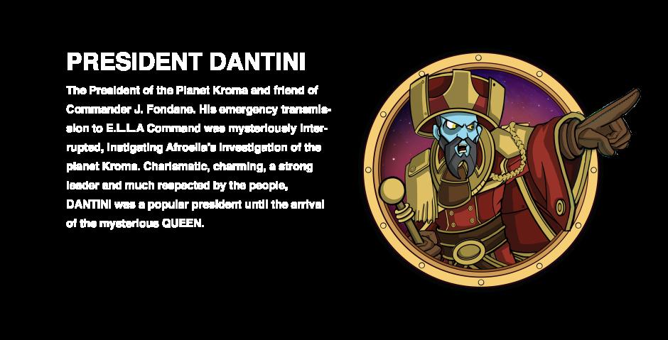 DANTINI character